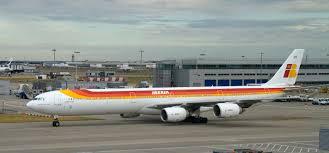 Iberia Airbus Flight