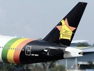 The new Air Zimbabwe Livery