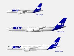 The Fly Joon Airlines fleet
