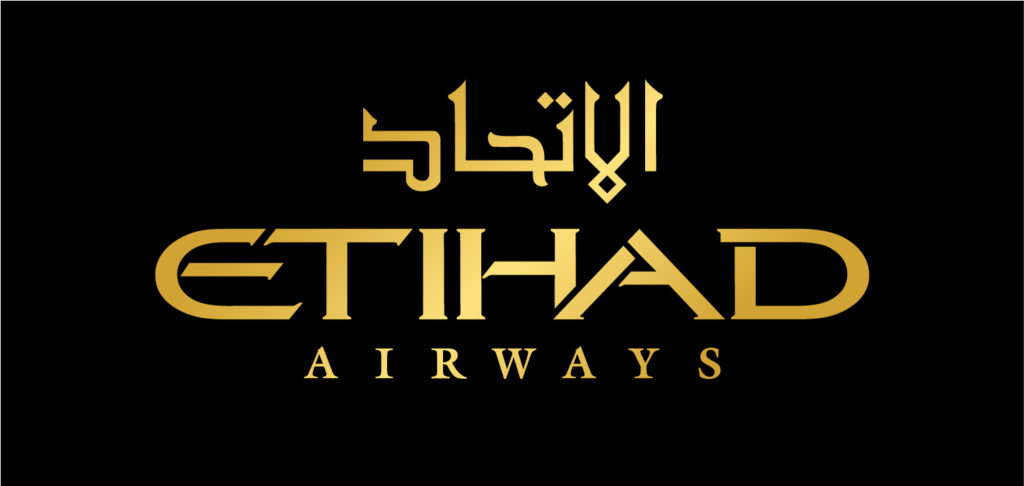 The Etihad Airways SA official logo, 2017