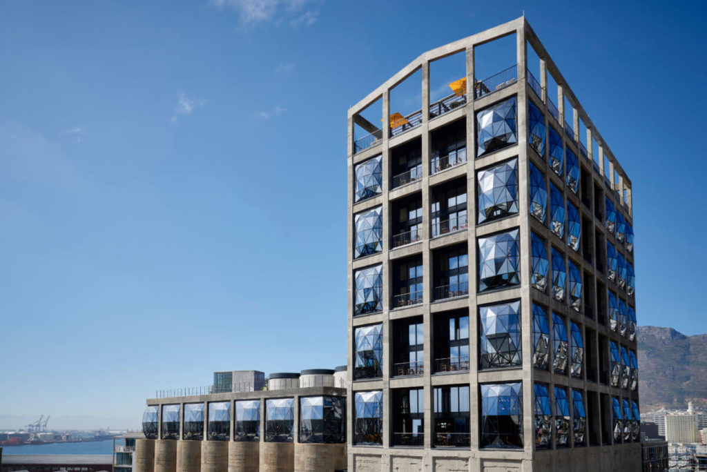 The Silo Cape Town's double-volume design makes for a magnificent exterior.