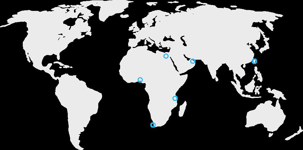 Travelstart's International Office Footprint