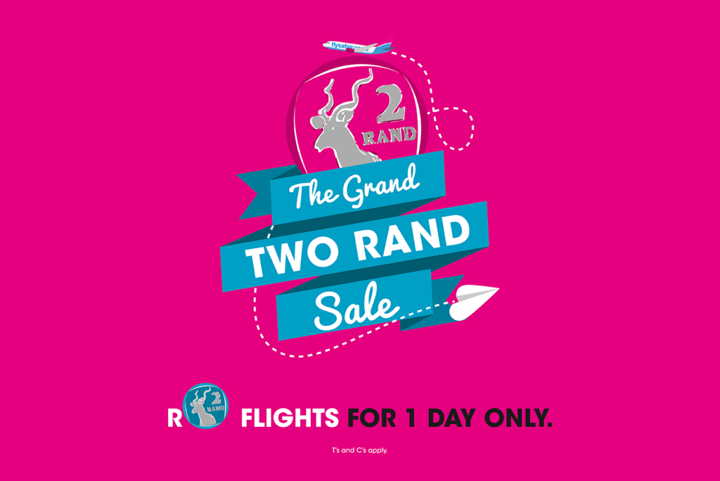 The Safair Airline Grand R2 Sale 2017