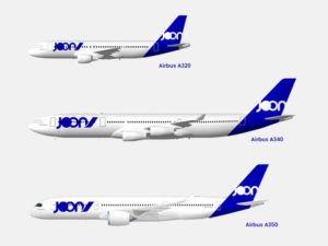 The Fly Joon Airlines fleet